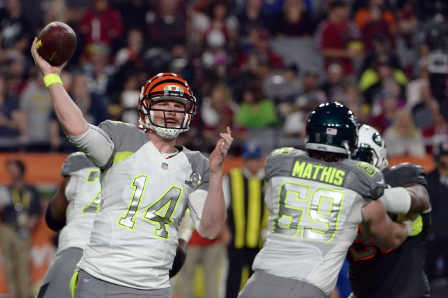 Andy Dalton booed at MLB celebrity softball game in ...