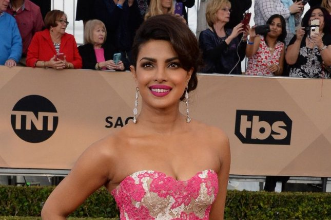 Priyanka Chopra at the Screen Actors Guild Awards on January 30. The actress will star in Baywatch. Photo by Jim Ruymen/UPI