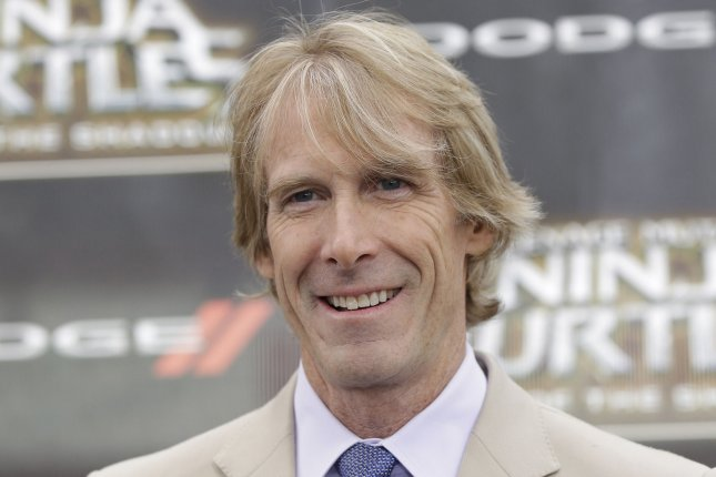 Michael Bay at the New York premiere of Teenage Mutant Ninja Turtles: Out of the Shadows on May 22. File Photo by John Angelillo/UPI
