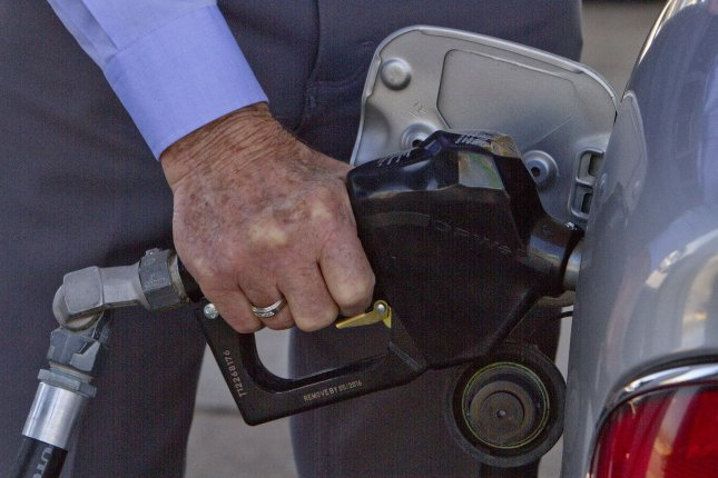 A decline in demand since Memorial Day and a surge in oil production from some OPEC members means low gas prices for consumers, AAA reports. File photo by Gary C. Caskey/UPI