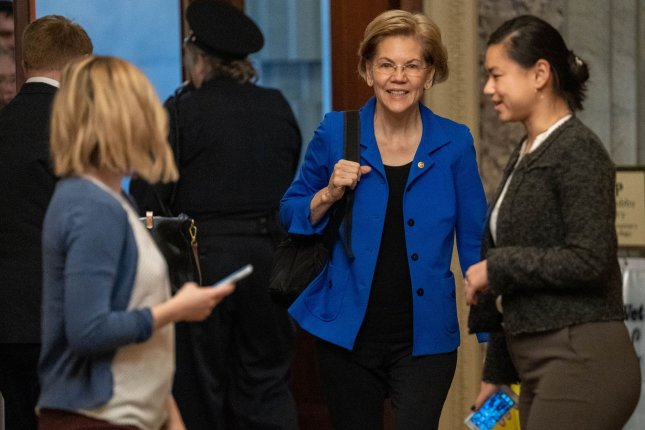 Sen. Elizabeth Warren appeared on this wekend's edition of SNL. File Photo by Ken Cedeno/UPI