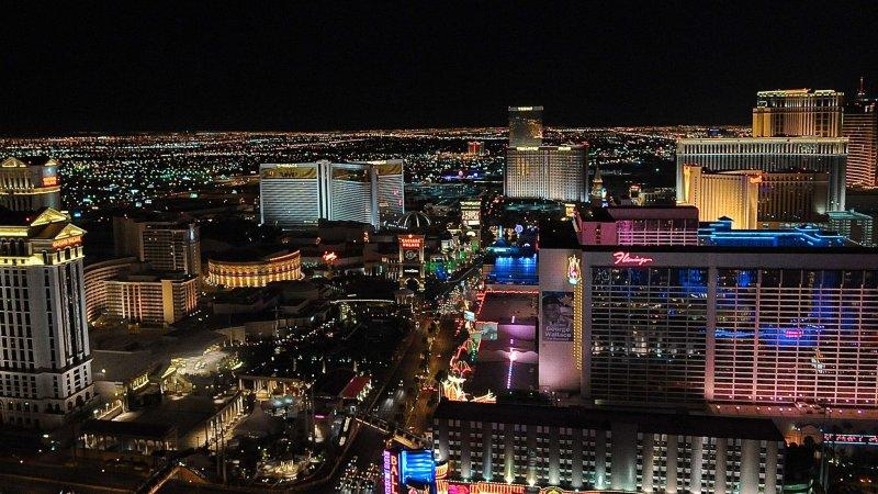 The Las Vegas Strip is seen in Las Vegas, Nevada on April 19, 2010. UPI/Alexis C. Glenn