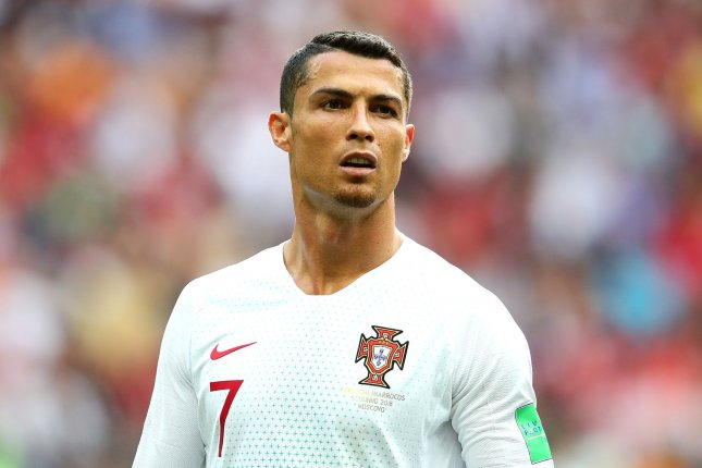 Police in Las Vegas requested DNA from Cristiano Ronaldo as part of an investigation into an alleged case of sexual assault. Photo by Chris Brunskill/UPI