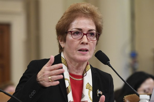 A source said Marie Yovanovitch retired within the past two weeks. File Photo by Kevin Dietsch/UPI