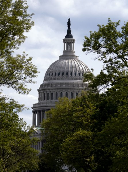 House lawmakers passed a resolution Friday condemning QAnon. File Photo by Kevin Dietsch/UPI