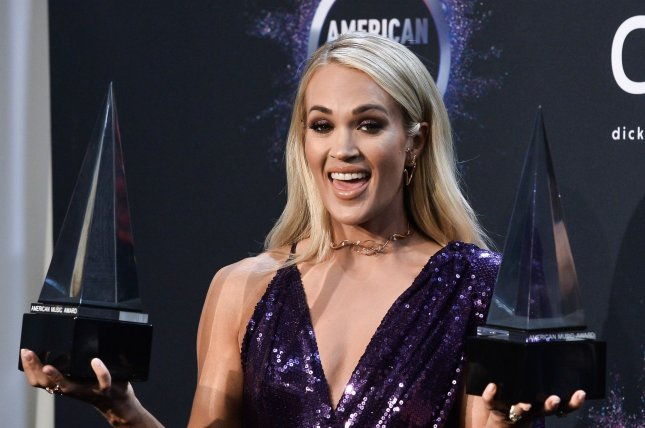 Carrie Underwood's new holiday special will premiere on HBO Max on Dec. 3. File Photo by Jim Ruymen/UPI
