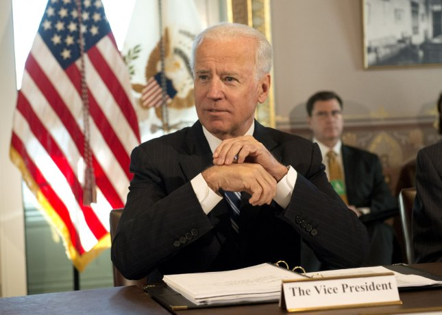 U.S. Vice President Joe Biden meets with sportsmen and women and wildlife interest groups as part of the Obama administration's efforts to develop a gun safety policy in Washington, Jan. 10, 2012. UPI/Kevin Dietsch