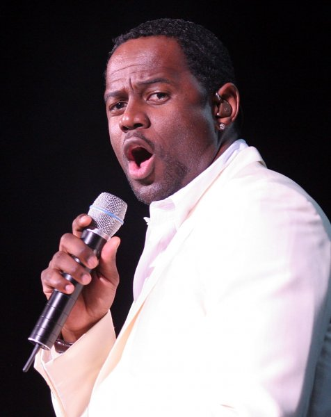 Organizers announced that R&B artist Brian McKnight will perform the national anthem before the start of baseball's 2005 All Star game at Detroit's Comerica Park on July 12, 2005 and will also perform God Bless America during the 7th inning stretch. FILE PHOTO: JUNE 2005 (UPI Photo/Michael Bush)