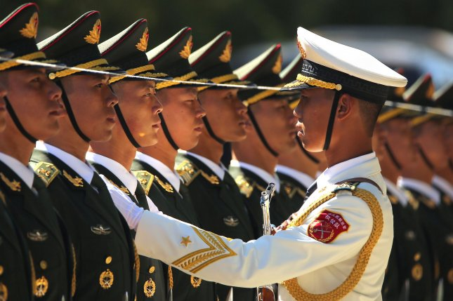 China is adding more warships to its naval forces, a Hong Kong-based source said. File Photo by Stephen Shaver/UPI