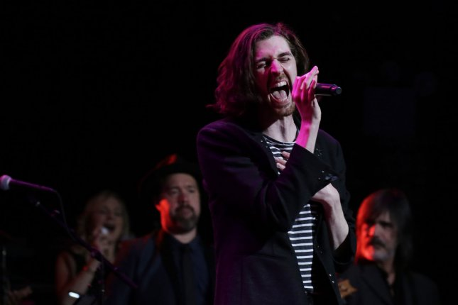 Hozier performs at the 3rd annual God's Love We Deliver Love Rocks NYC! Benefit Concert at the Beacon Theatre in New York City on March 7, 2019. The musician turns 30 on March 17. File Photo by John Angelillo/UPI