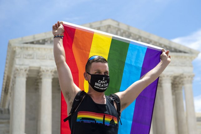 In his ruling Monday, U.S. District Judge Frederick Block citedthe Supreme Court's June decision that bans LGBTQ employment discrimination. File Photo by Kevin Dietsch/UPI