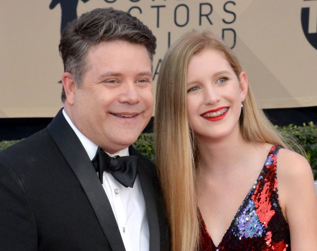 Sean Astin (L) and his daughter Alexandra Astin arrive for the the 24th annual SAG Awards held at the Shrine Auditorium in Los Angeles on January 21, 2018. Sean Astin turns 50 on February 25. File Photo by Jim Ruymen/UPI