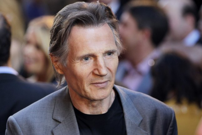Liam Neeson arrives on the red carpet at the New York premiere of 'Ted 2' at Ziegfeld Theater in New York City on June 24, 2015. Photo by John Angelillo/UPI