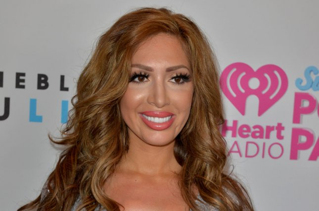 Farrah Abraham attends the iHeartRadio Summer Pool Party concert on May 21, 2016. The reality star denied this week that she's back together with Simon Saran. File Photo by Johnny Louis/UPI
