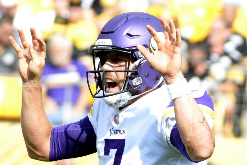 Case Keenum excels in Minnesota Vikings' win over Tampa Bay Buccaneers