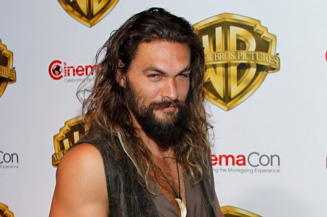 Jason Momoa is ready to defend Atlantis in new posters for Aquaman. File Photo by James Atoa/UPI