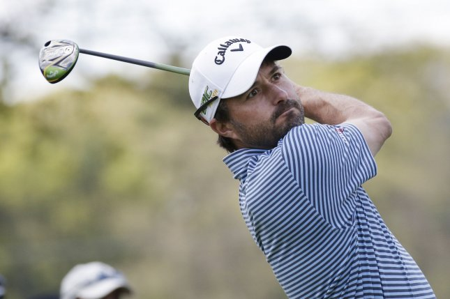 Kevin Kisner recorded seven birdies in the opening round of the Rocket Mortgage Classic on Thursday. File Photo by John Angelillo/UPI