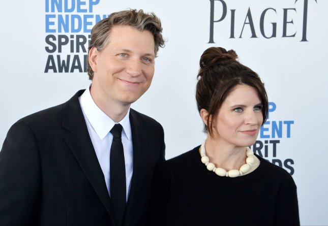 Jeff Nichols, seen here with his wife Missy, is set to write and direct a third A Quiet Place film for Paramount.  File Photo by Jim Ruymen/UPI