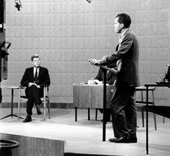 First Debate Domestic Issues Aired By Richard Nixon Jfk Upi Archives