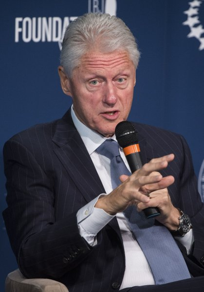 Prison reform will prove to be a major issue in the 2016 presidential election says former President Bill Clinton. UPI/Kevin Dietsch