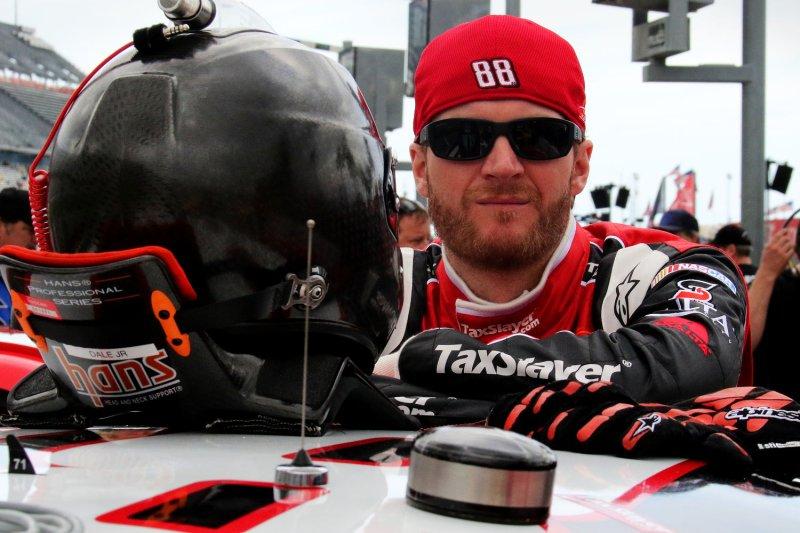 Dale Earnhardt Jr. likes plate racing again. Photo by Ed Locke/UPI
