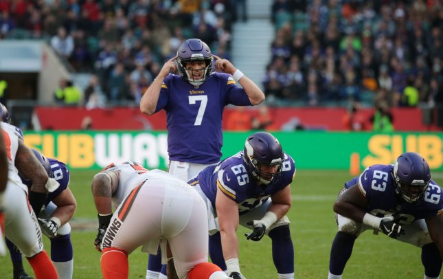 bd253e9ec Minnesota Vikings  Case Keenum to remain starting QB - UPI.com