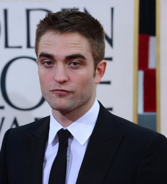 Actor Robert Pattinson arrives for the 70th annual Golden Globe Awards at the Beverly Hilton Hotel in Beverly Hills, Calif., Jan. 13, 2013. UPI/Jim Ruymen