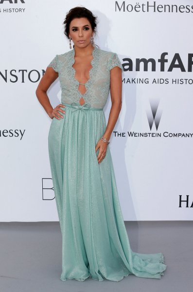 Eva Longoria arrives at the 22nd amfAR Cinema Against AIDS 2015 gala at the Hotel du Cap-Eden-Roc in Antibes, France on May 21, 2015. Longoria is among those President Obama is seeking advice from regarding his post-presidency career options. Photo by David Silpa/UPI