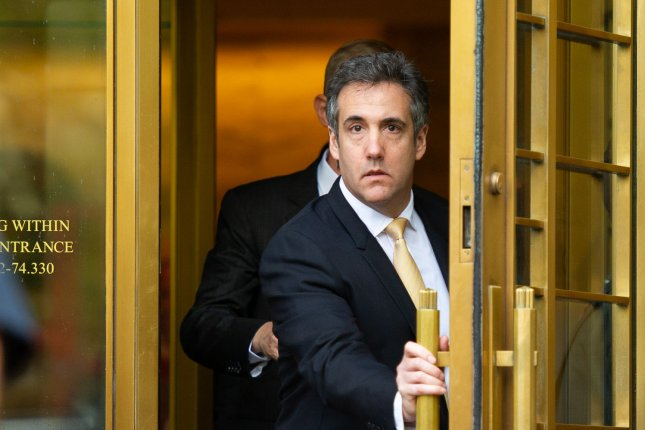Michael Cohen's attorney said he needs more time to recover from shoulder surgery and prepare for congressional testimony. File Photo by Corey Sipkin/UPI