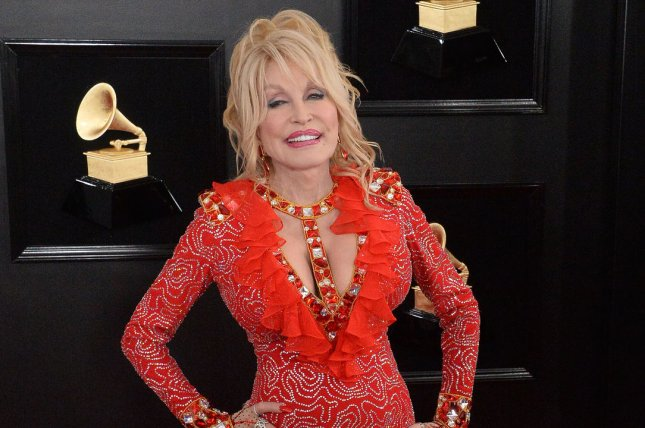 Dolly Parton will be performing at the 2019 CMA Awards along with Pink and Luke Combs. File Photo by Jim Ruymen/UPI