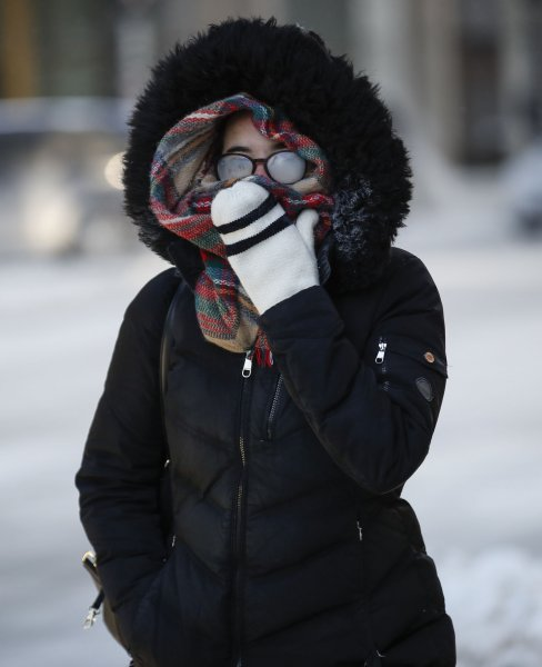Temperatures in some places dropped by up to 40 degrees within a 24-hour period. File Photo by Blake Clark/UPI
