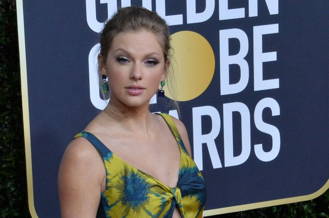 Taylor Swift will perform during Global Citizen's One World: Together at Home concert event. FilePhoto by Jim Ruymen/UPI
