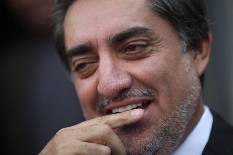 Afghan presidential candidate Abdullah Abdullah, pictured on November 4, 2009. (UPI/Hossein Fatemi)