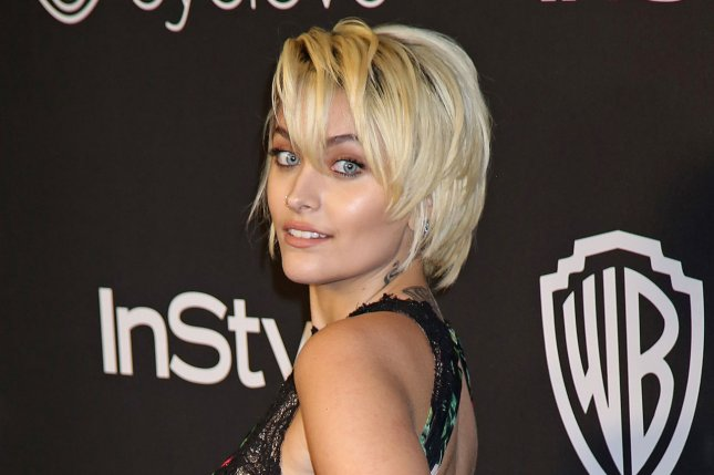 Paris Jackson at the InStyle and Warner Bros. Golden Globes after-party on Sunday. File Photo by David Silpa/UPI