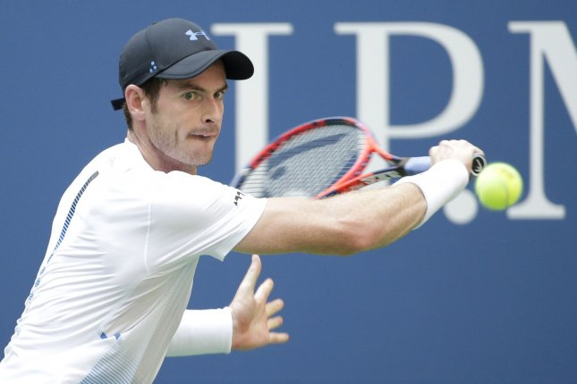 Andy Murray accepted a wild card for the singles draw at the Western & Southern Open in Cincinnati. The first round begins Monday. File Photo by John Angelillo/UPI