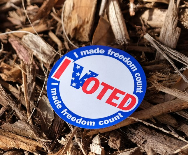 Voters went to the polls in lesser numbers in Tuesday's primary elections in Florida, Illinois and Arizona amid concerns about the coronavirus outbreak while more voters took advantage of early and mail-in voting.Photo by Gary I Rothstein/UPI