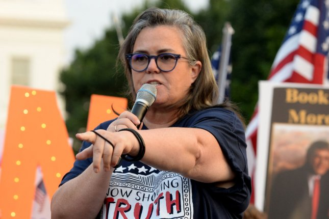 Rosie O'Donnell raised $500,000 for The Actor's Fund. File Photo by Pat Benic/UPI