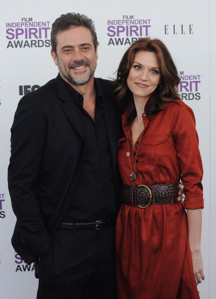 Jeffrey Dean Morgan (L) and Hilarie Burton will be seen together on The Walking Dead next season. File Photo by Jim Ruymen/UPI
