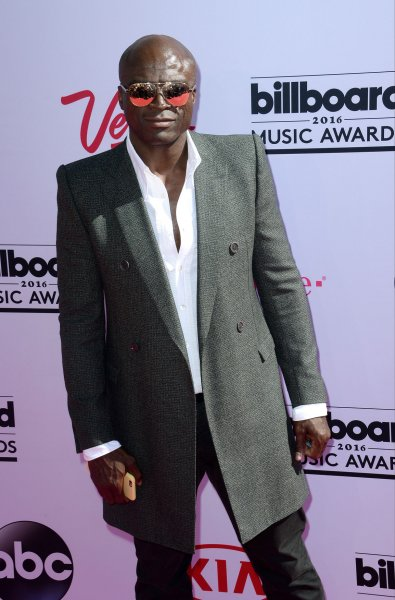 Seal attends the annual Billboard Music Awards held at T-Mobile Arena in Las Vegas on May 22, 2016. The singer turns 58 on February 19. File Photo by Jim Ruymen/UPI