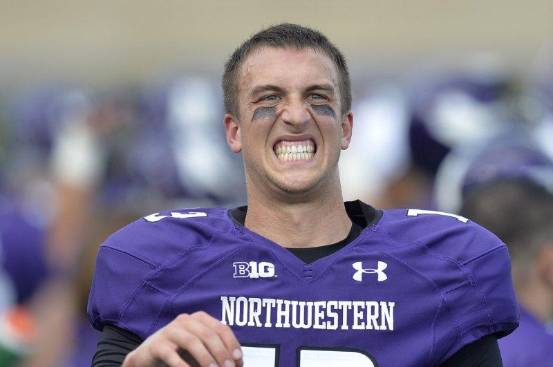 Former Northwestern quarterback Trevor Siemian. UPI/Brian Kersey