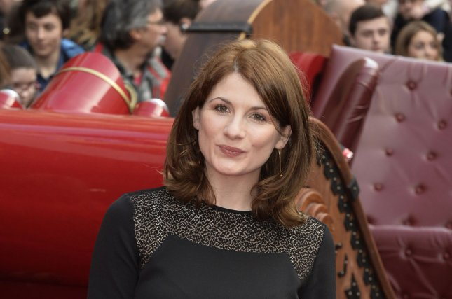 Jodie Whittaker attends the British premiere of Get Santa in London on November 30, 2014. The actress is to play the 13th incarnation of the Doctor on BBC's Doctor Who. File Photo by Paul Treadway/UPI