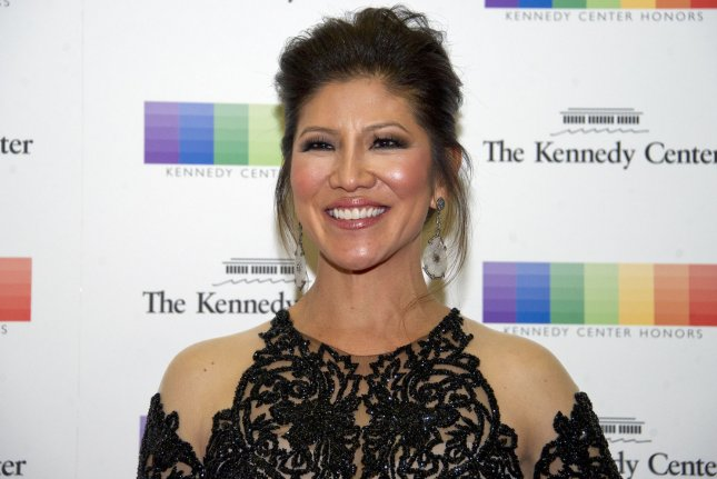 Julie Chen announced in a pre-recorded video that she is exiting The Talk to spend more time with her family. Chen's husband Leslie Moonves recently stepped down from CBS amid sexual misconduct allegations. File Photo by Ron Sachs/UPI