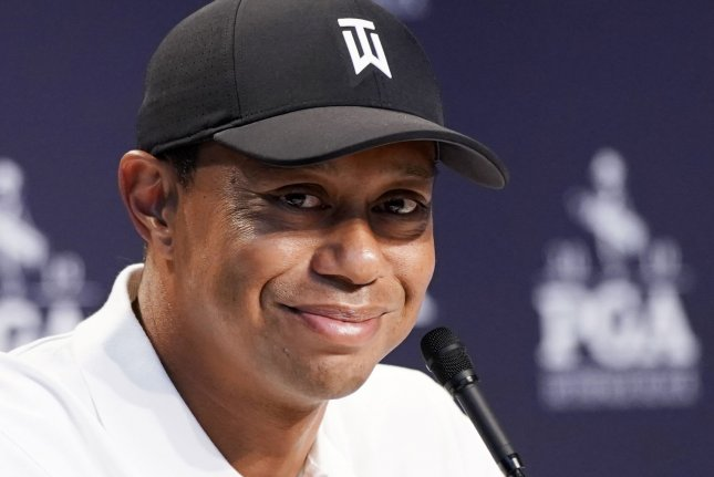 Tiger Woods is the betting favorite to win the 2019 PGA Championship. Photo by John Angelillo/UPI