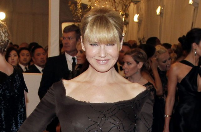 Renee Zellweger at the Costume Institute Benefit at the Metropolitan Museum of Art on May 6, 2013. File Photo by John Angelillo/UPI