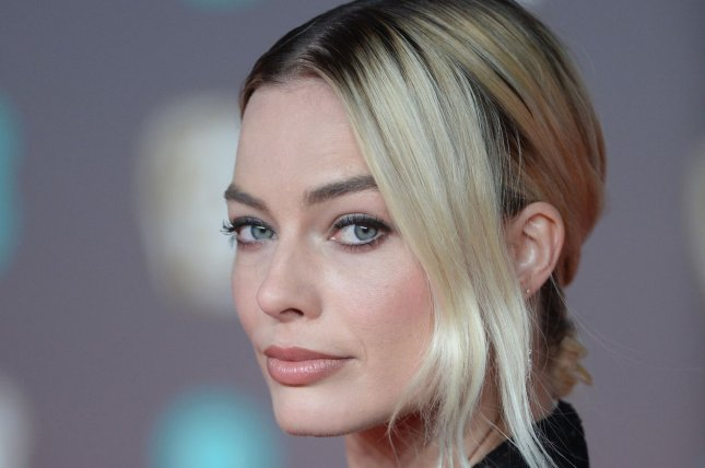 Birds of Prey star Margot Robbie attends the British Academy Film Awards in London on February 2. Photo by Rune Hellestad/UPI