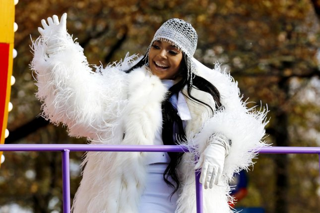 Ashanti rides down Central Park West in the 93rd Macy's Thanksgiving Day Parade in New York City on November 28. The singer turns 40 on October 13. File Photo by Peter Foley/UPI