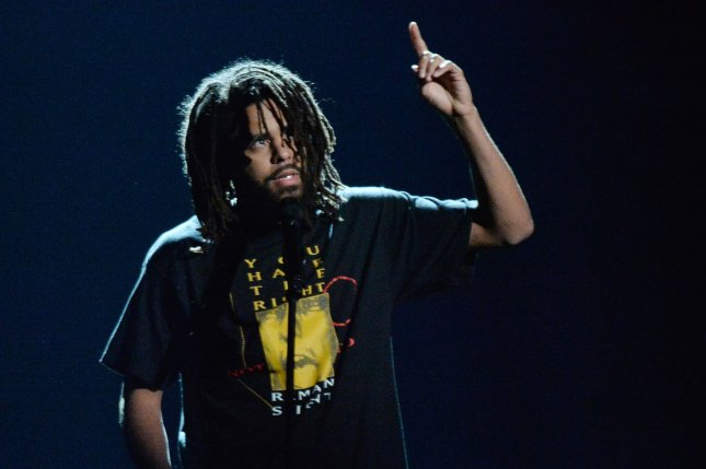 J. Cole has announced a new North American tour with 21 Savage. File Photo by Jim Ruymen/UPI