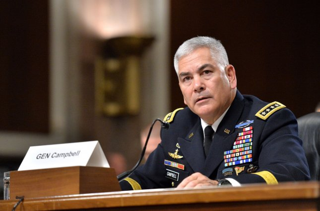 Gen. John Campbell said military personnel who requested the strike and those who executed it did not take appropriate measures to verify that the facility was a legitimate target. File photo by Kevin Dietsch/UPI