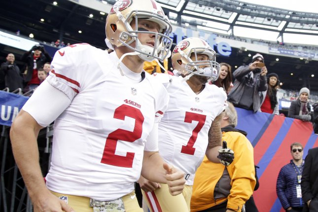 Wholesale San Francisco 49ers could make Colin Kaepernick third string  for sale