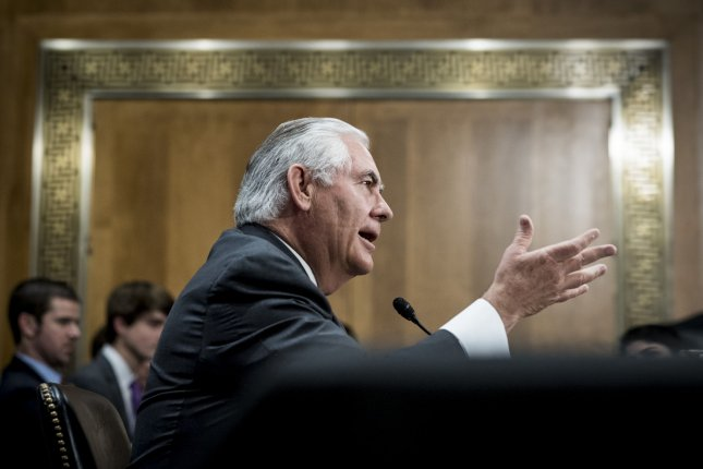 Secretary of State Rex Tillerson said Tuesday that Washington is ready to talk with North Korea with no preconditions. File Photo by Pete Marovich/UPI